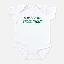 Daddys little Brook Trout Infant Bodysuit