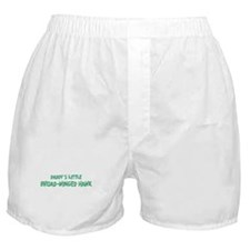 Daddys little Broad-Winged Ha Boxer Shorts