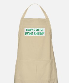 Daddys little Brine Shrimp BBQ Apron