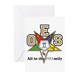 all in the PHAMILY Greeting Cards (Pk of 10)