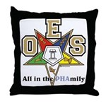 all in the PHAMILY Throw Pillow