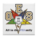 all in the PHAMILY Tile Coaster
