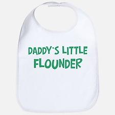Daddys little Flounder Bib