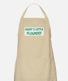 Daddys little Flounder BBQ Apron