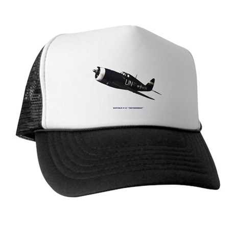 Republic P-47 Thunderbolt #1 Trucker Hat