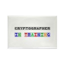 Cryptographer In Training Rectangle Magnet (10 pac