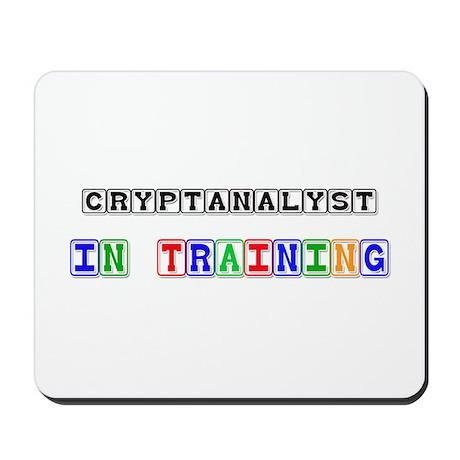 Cryptanalyst In Training Mousepad