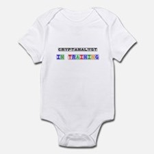 Cryptanalyst In Training Infant Bodysuit