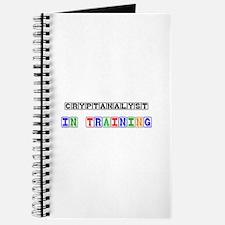 Cryptanalyst In Training Journal