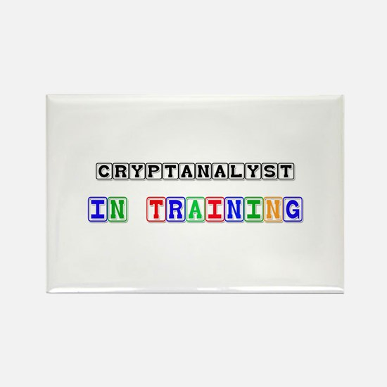 Cryptanalyst In Training Rectangle Magnet