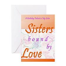 Sisters Sentimental Greeting Card