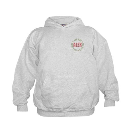 Alex Man Myth Legend Kids Sweatshirt