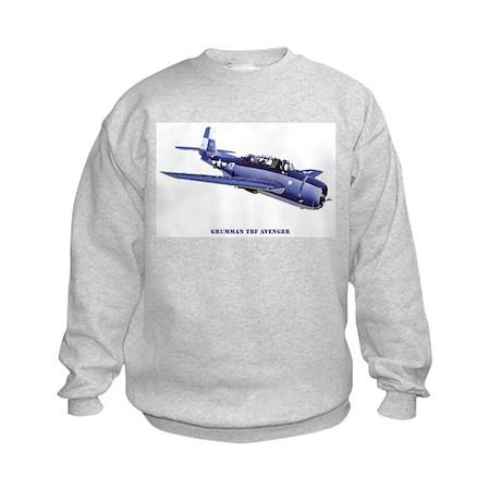 Grumman TBF Avenger Kids Sweatshirt