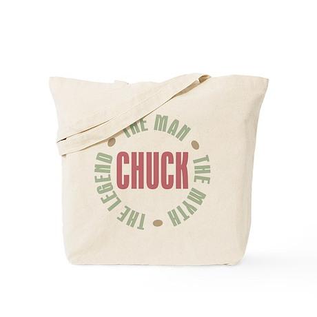 Chuck Man Myth Legend Tote Bag