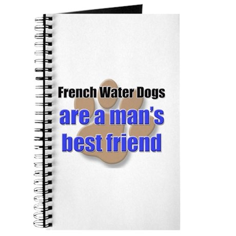 French Water Dogs man's best friend Journal