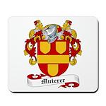 Muterer Family Crest Mousepad