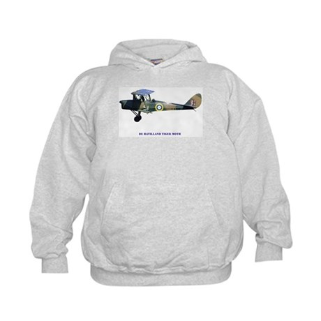 De Havilland Tiger Moth Kids Hoodie