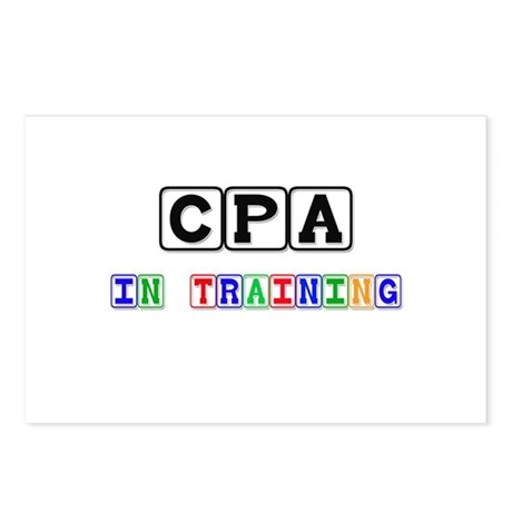 Cpa In Training Postcards (Package of 8)
