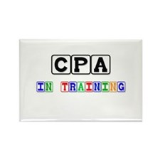 Cpa In Training Rectangle Magnet