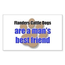 Flanders Cattle Dogs man's best friend Decal