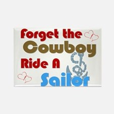 Ride A Sailor Rectangle Magnet