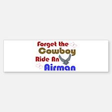 Ride An Airman Bumper Bumper Bumper Sticker