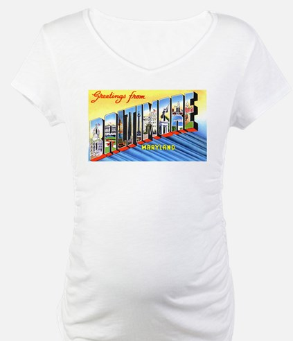 Baltimore Maryland Greetings Shirt