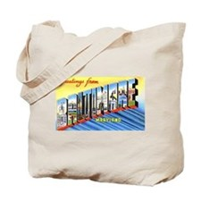 Baltimore Maryland Greetings Tote Bag