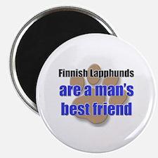 Finnish Lapphunds man's best friend Magnet