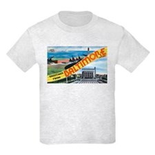 Baltimore Maryland Greetings T-Shirt