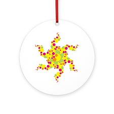 SUN STAR LOOK Ornament (Round)