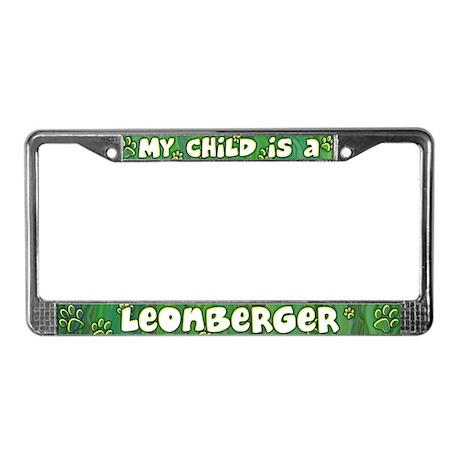 My Kid Leonberger License Plate Frame