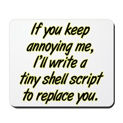 Shell Script Mousepad