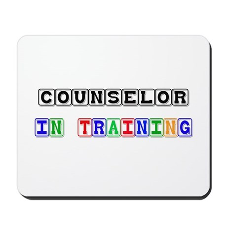 Counselor In Training Mousepad