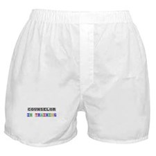 Counselor In Training Boxer Shorts