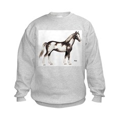 Pinto Horse (Front) Sweatshirt