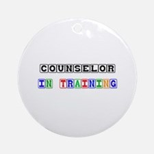 Counselor In Training Ornament (Round)