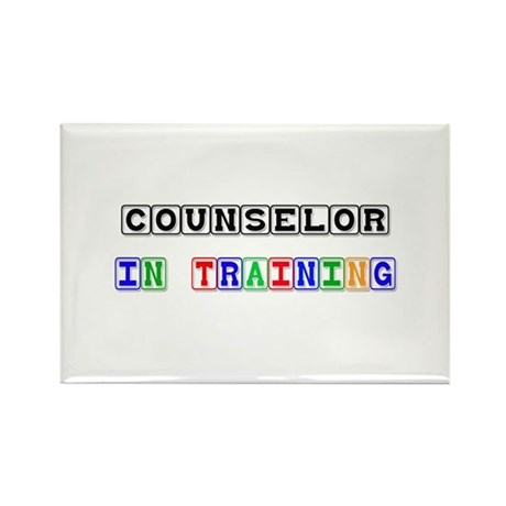 Counselor In Training Rectangle Magnet (10 pack)