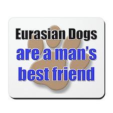 Eurasian Dogs man's best friend Mousepad