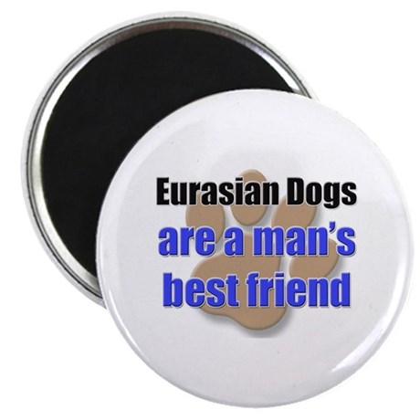 Eurasian Dogs man's best friend Magnet