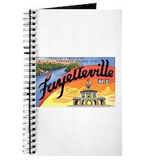 Fayetteville North Carolina Greetings Journal