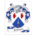 Neilson Family Crest Small Poster