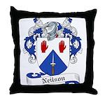 Neilson Family Crest Throw Pillow