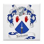 Neilson Family Crest Tile Coaster