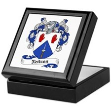 Neilson Family Crest Keepsake Box