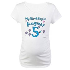 August 5th Birthday Shirt