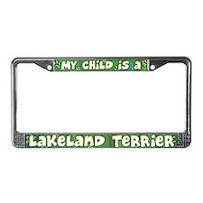 My Kid Lakeland Terrier License Plate Frame