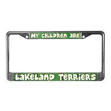 My Children Lakeland Terrier License Plate Frame