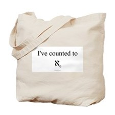 I've counted to aleph naught - Tote Bag