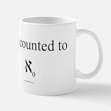 I've counted to aleph naught - Mug